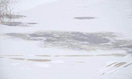 Vahvaksi luultu jää yllätti Kolimalla