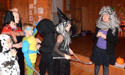 Karmivaa halloweenia Kinnulan malliin