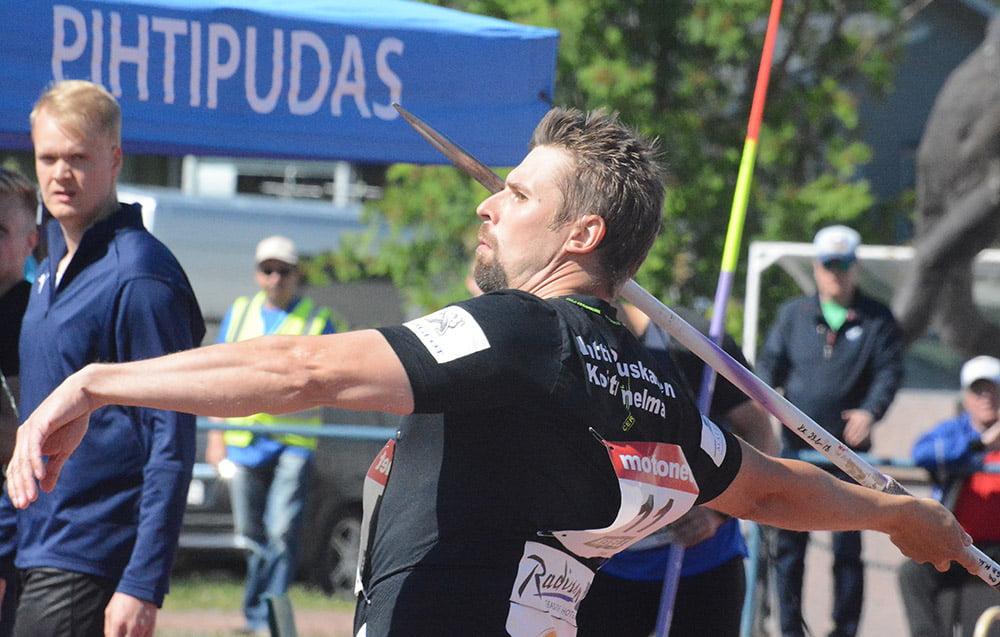 Antti Ruuskanen voitti vihdoinkin keihäskarnevaaleilla