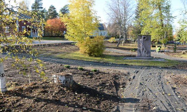 Sallilan puiston odotettu kunnostus viimein työn alla