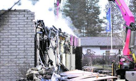 Kinnulan rivitalopalosta on otettu kiinni yksi talon asukkaista
