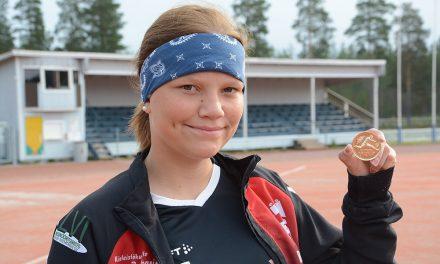 Helmi Jauhiaisesta toinen kinnulalainen yleisurheilun Suomen mestari